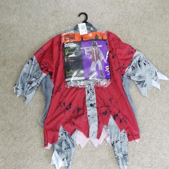 Boys Zombie Slugger Halloween Costume XL